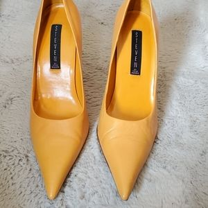 Steve madden orange heels
